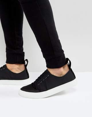 Blood Brother Asura Nylon Sneakers In Black