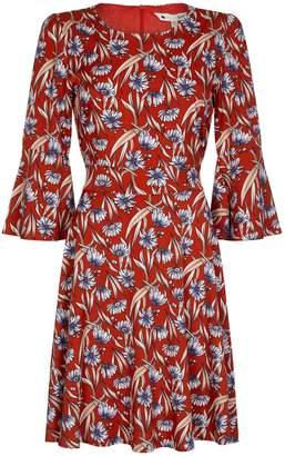 Yumi Cornflower Patterned Dress