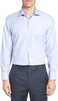 Ted Baker Bigbenn Trim Fit Dot Dress Shirt