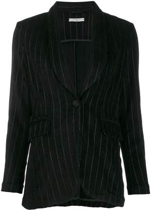 1901 Circolo single breasted striped blazer