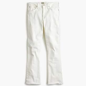 J.Crew Tall Billie demi-boot crop in jean white