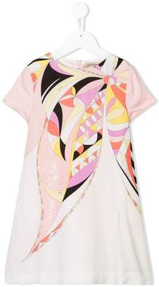 Emilio Pucci Junior printed T-shirt dress