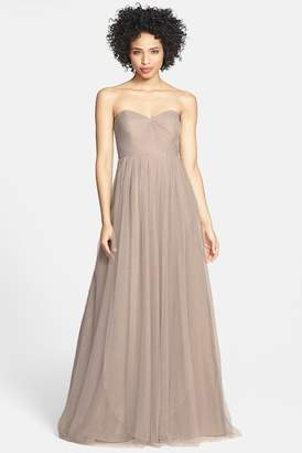Jenny Yoo Collection Annabelle Convertible Tulle Column Dress