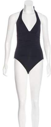 DKNY One-Piece Ruched Swimsuit