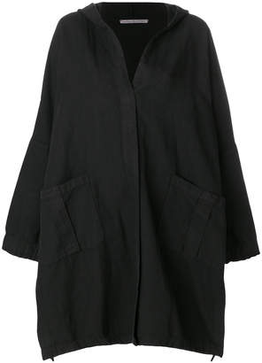 Stefano Mortari flared draped coat