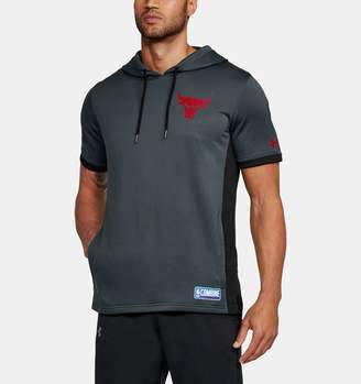 Under Armour Men's NBA Combine UA Baseline Short Sleeve Hoodie
