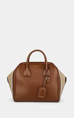 Burberry Women's Medium Leather Bowling Bag - Brown