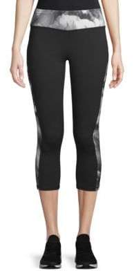 Gaiam Printed Capri Leggings