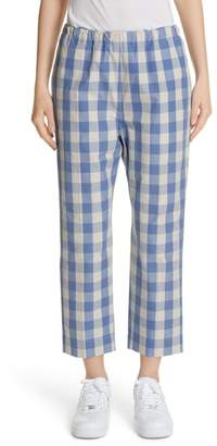 Sofie D'hoore Plaid Carrot Pants