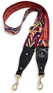 Valentino Native Couture Embroidered Guitar Handbag Strap