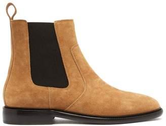 Isabel Marant Chelt Suede Chelsea Boots - Mens - Tan