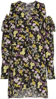 Magda Butrym silk trento floral print dress