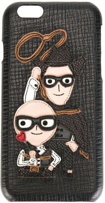 Dolce & Gabbana Western Designers patch iPhone 6 case
