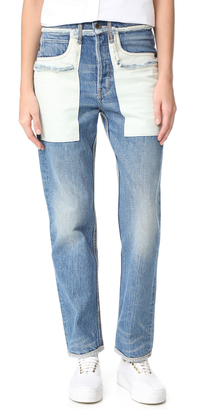 Helmut Lang Inside Out Jeans $345 thestylecure.com