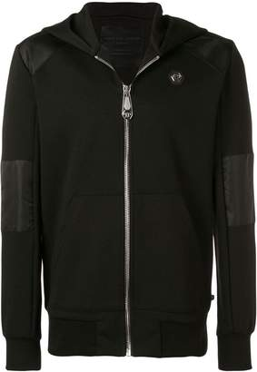 Philipp Plein zipped hooded jacket