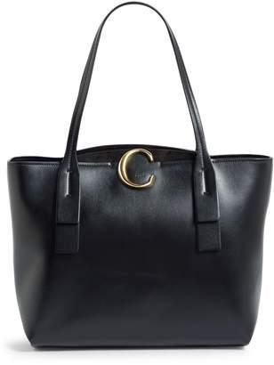 Chloé Medium Leather Zipped Tote Bag