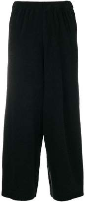 Christian Wijnants wide leg cropped trousers