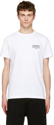Off-White White 'Off' T-Shirt $255 thestylecure.com