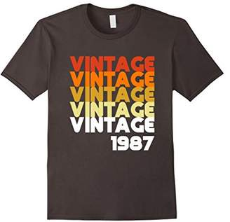 Vintage 1987 Funny Old School 31st Birthday Gift T-shirt