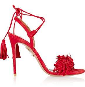 Gianvito Rossi Wild Thing Fringed Suede Sandals