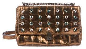 Eric Javits Crystal Embellished Crossbody Bag