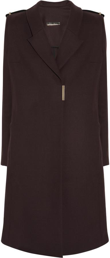 Victoria Beckham Wool-twill coat
