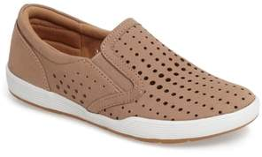 Comfortiva Lyra Perforated Slip-On Sneaker