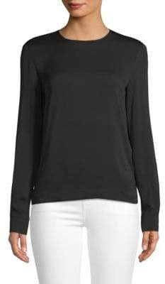 Max Mara Classic Long-Sleeve Top