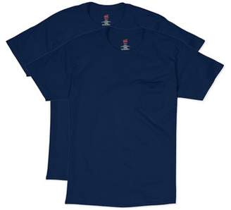 Hanes Men's Short Sleeve Pocket Tee Value Pack (2-pack)