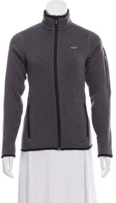 Patagonia Long Sleeve Zip-Up Sweater