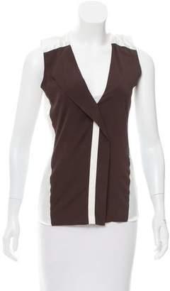 Reed Krakoff Sleeveless Silk Top