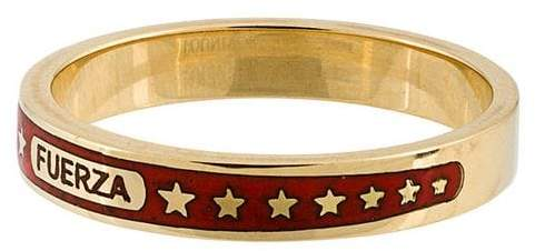Foundrae 18kt 'Fuerza' Goldring