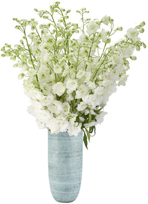 AERIN Calinda Tall Vase - Blue Grotto
