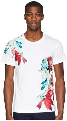 Versace Exploded Floral Graphic T-Shirt Men's T Shirt