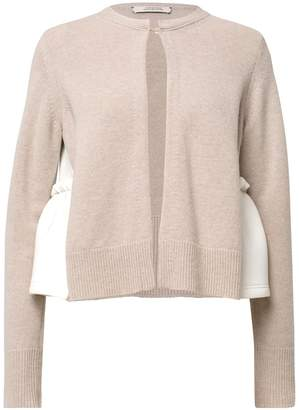 Schumacher Dorothee Scuba Swing Cardigan in New White