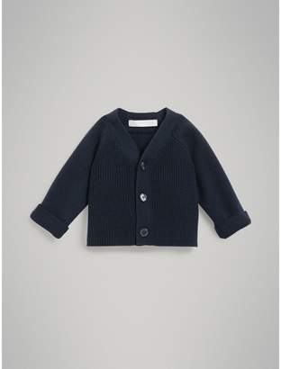 Burberry Childrens Cashmere Cotton Knit Cardigan
