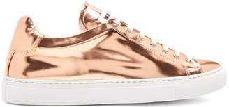 Jil Sander Low-top leather trainers
