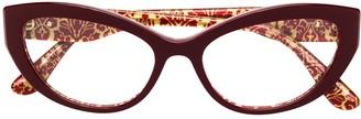 Dolce & Gabbana Eyewear cat-eye glasses