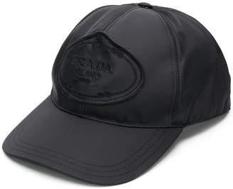 Prada logo baseball cap