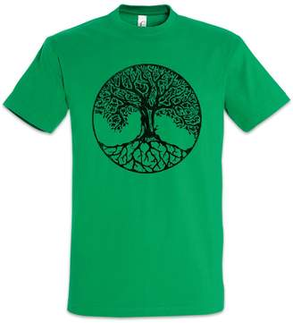 Celtic Urban Backwoods Yggdrasil VII T-Shirt - Arsen Irminsul Tree Loki of Life of