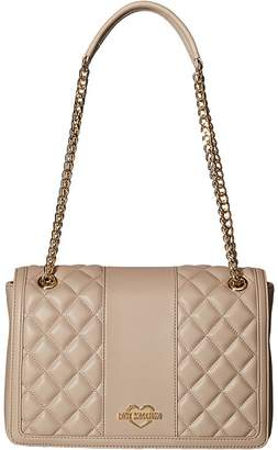 Love Moschino Quilted Crossbody Chain Strap Handbags