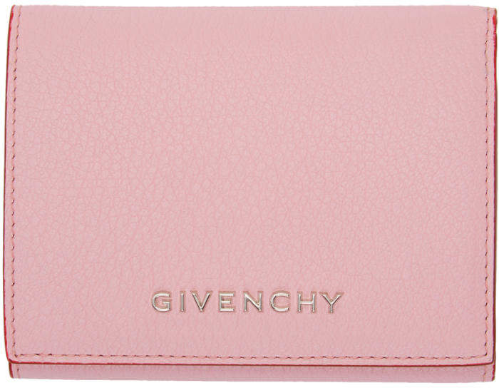 Givenchy Pink Pandora Trifold Wallet