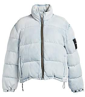 Alexander Wang Women's Denim Puffer Jacket