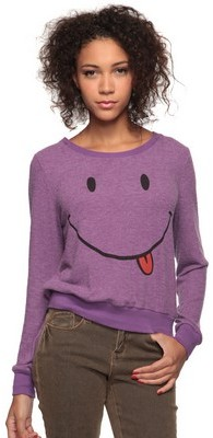 Forever 21 Happy Face Top