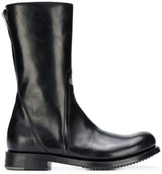Rick Owens smooth ankle boots