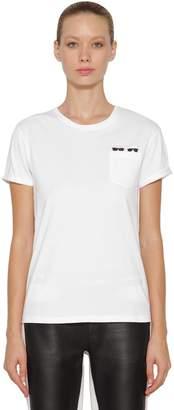 Karl Lagerfeld Ikonik & Choupette Cotton T-Shirt