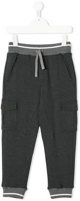 Dolce & Gabbana striped trim track pants