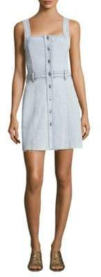 7 For All Mankind Button Front Denim Dress