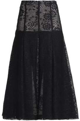 Emilia Wickstead Lace Midi Skirt