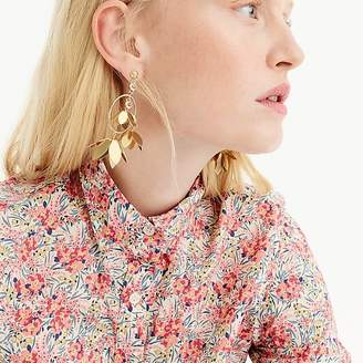 Classic popover shirt in Liberty® swirling petals
